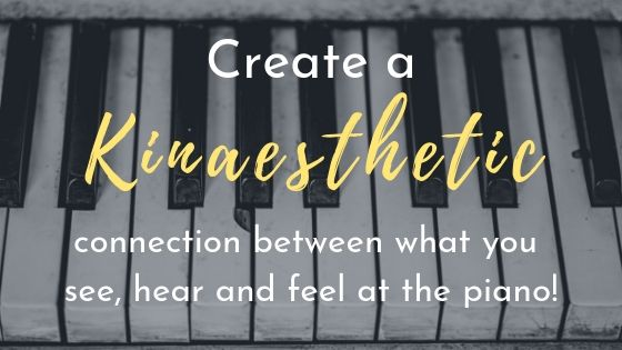 create a kinaesthetic connection